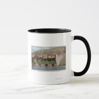 Glenwood Springs, Co - Ansicht des Hotels Co u. Tasse