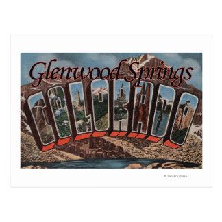 Glenwood Springs, Colorado - große Postkarte
