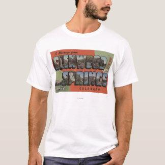 Glenwood Springs, Colorado - große T-Shirt