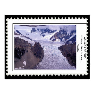 Gletscher Alaska Postkarte