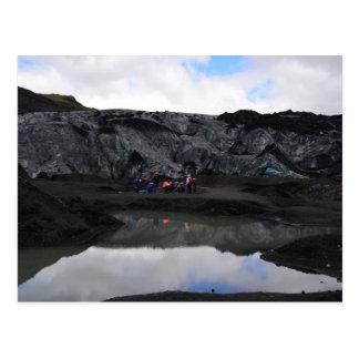 Gletscher-Grenze, Südisland Postkarte