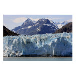 Gletscher in Alaska-Druck Poster