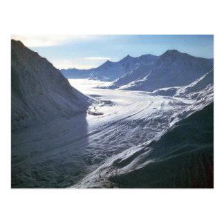 Gletscher Postkarte