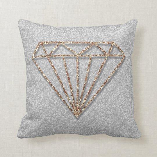 Glitter-Diamantthrow-Kissen Kissen