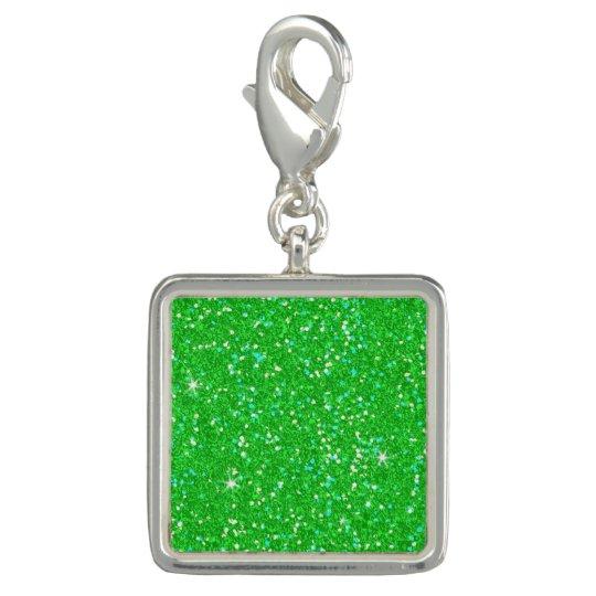 Glitter-glänzender Schein Charm