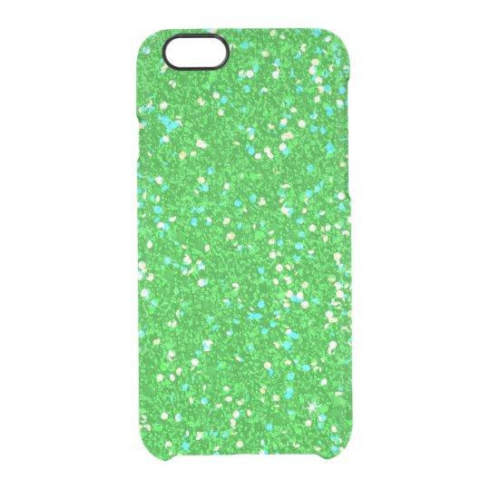 Glitter-glänzender Schein Durchsichtige iPhone 6/6S Hülle