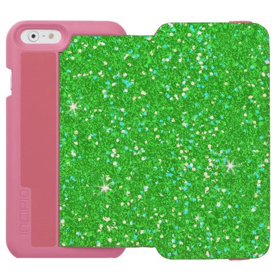 Glitter-glänzender Schein Incipio Watson™ iPhone 6 Geldbörsen Hülle