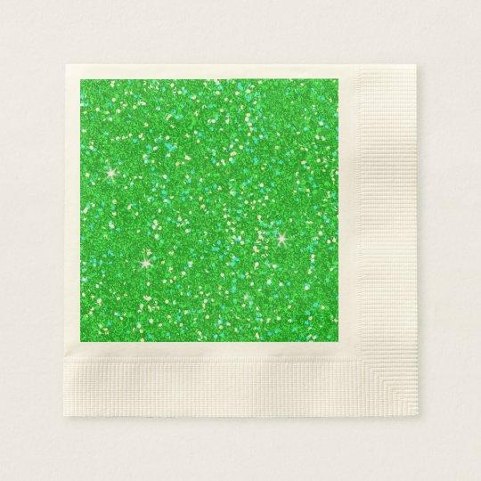 Glitter-glänzender Schein Serviette