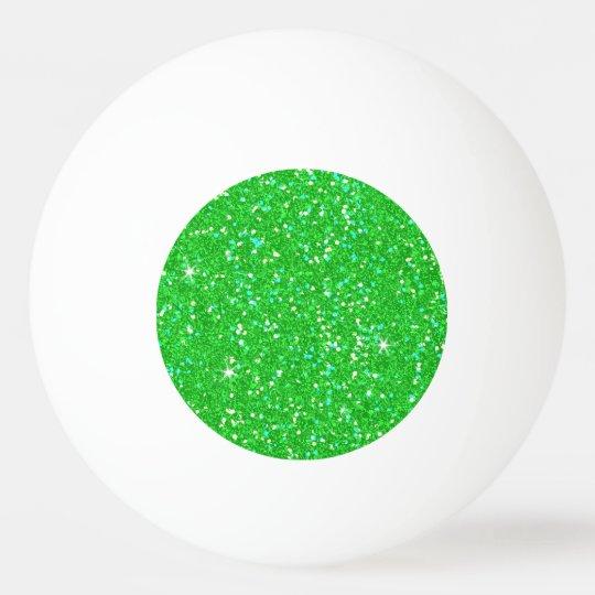 Glitter-glänzender Schein Tischtennis Ball