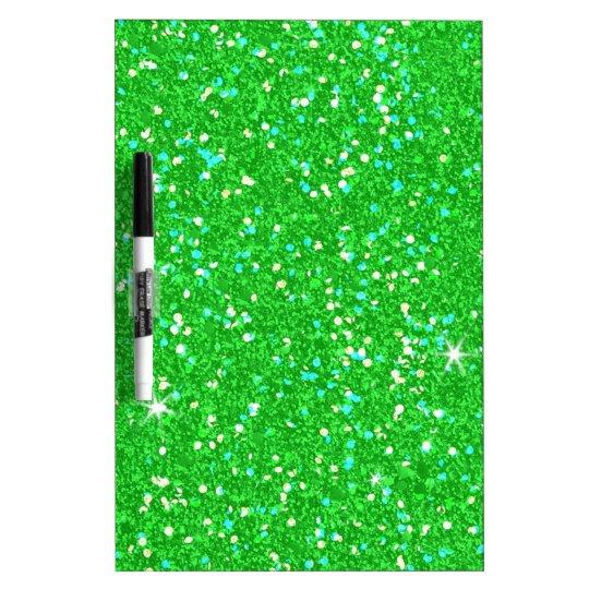 Glitter-glänzender Schein Trockenlöschtafel