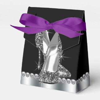 Glitter-hohe Fersen-Schuh-Geburtstag Geschenkschachteln