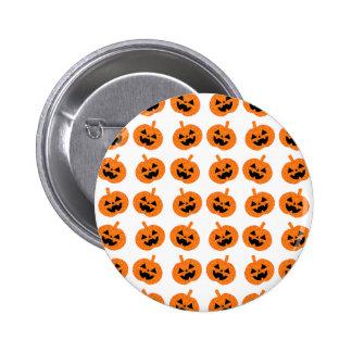 Glitter-Kürbise Runder Button 5,1 Cm