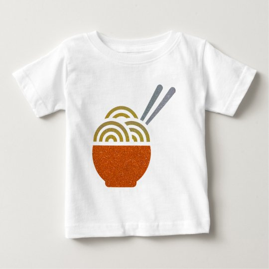 Glitter-Nudelsuppe-Baby-T - Shirt