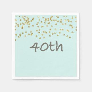 GlitterConfetti 40. Papierserviette