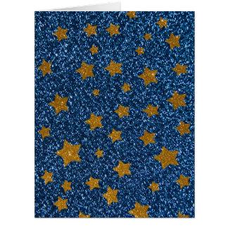 Glitternachthimmel Karte