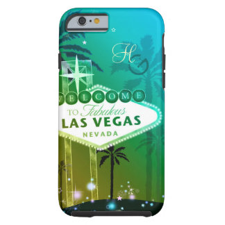 Glitz u. bezaubernde Las Vegas-Monogramme Tough iPhone 6 Hülle