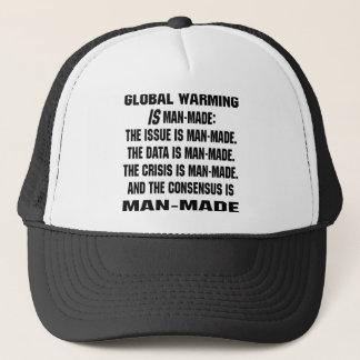 Globale Erwärmung ist künstlich Truckerkappe