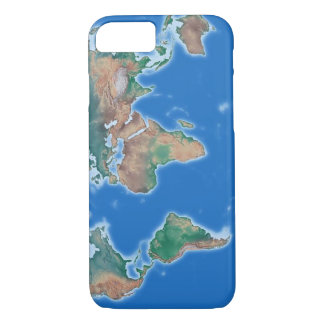 Globale Handy-Weltkarte iPhone 7 Hülle