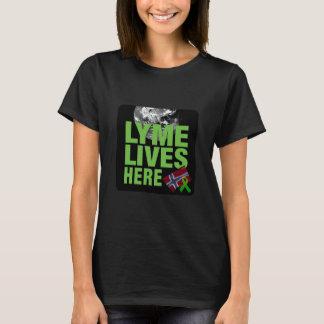 Globales Lyme lebt hier im Shirt Norwegen-Frauen