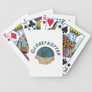 Globetrotter Bicycle Spielkarten