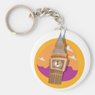 Glockenturm Big Bens Westminster Schlüsselanhänger