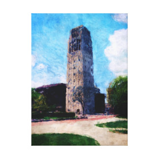 Glockenturm Leinwanddruck
