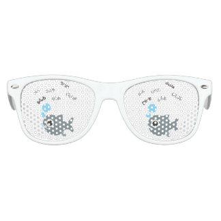Glub Fische niedliches Emoji Sonnenbrille