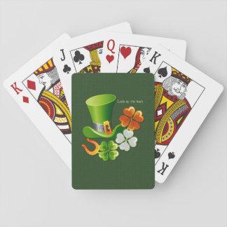 Glück der Iren. Klassische Spielkarten