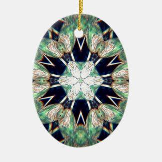 Glück der irischen Blumen Keramik Ornament