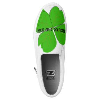 Glück des irischen Beleges auf Schuhen Slip-On Sneaker