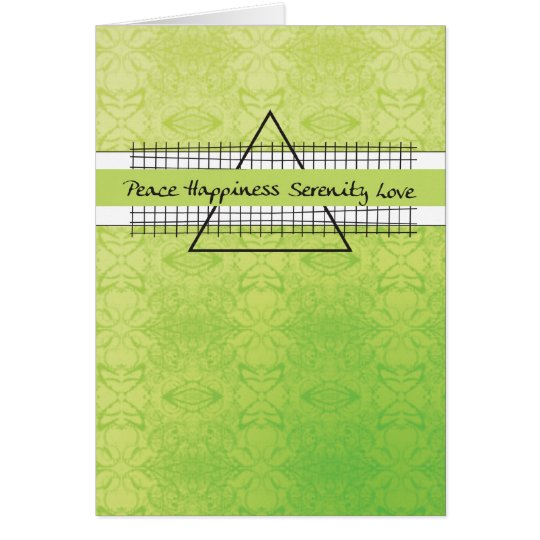 Glück-Erholungs-Geburtstag des Friedens3523 Karte
