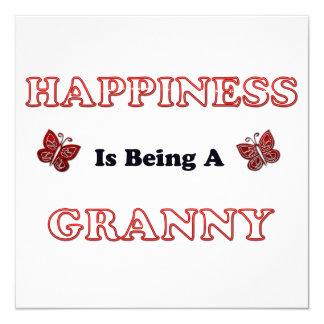 Glück ist eine Oma Karte