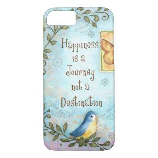 Glück ist eine Reise iPhone 8/7 Hülle