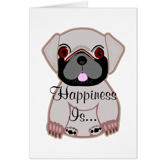 Glück ist… grußkarte