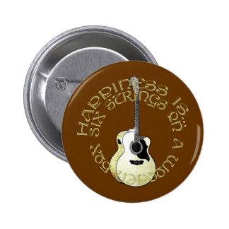 Glück ist… runder button 5,7 cm