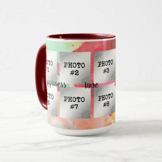 Glück, Liebe, Freude, Erinnerungen… 10-Foto Tasse