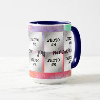 Glück, Liebe, Freude, Erinnerungens-… Foto 10 Tasse