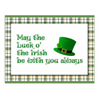 Glück o die irische Postkarte