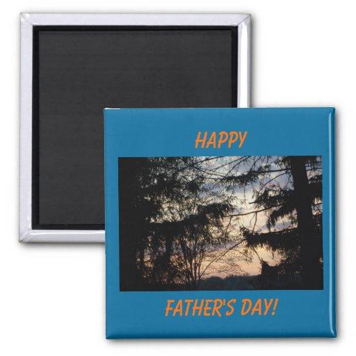 Glücklich, der Vatertag! Magnet Magnets