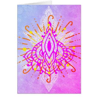 Glücklich Diwali Karte