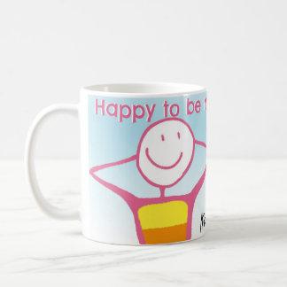 Glücklich, ich zu sein Tasse