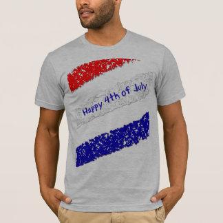 Glücklich Juli 4. - vergrößert T-Shirt
