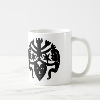 Glücklich Kaffeetasse