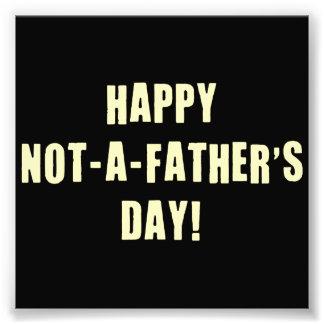 Glücklich nicht ein Vatertag Fotodruck