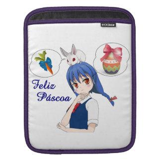 Glücklich Ostern ,(Personalizável) Sleeve Für iPads