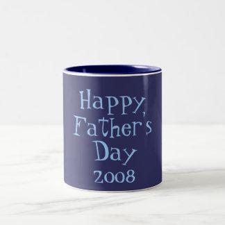Glücklich, Vaters, Tages, 2008 Zweifarbige Tasse