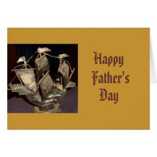 Glücklich, Vaters, Tages Grußkarte