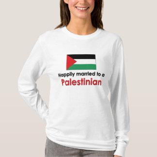 Glücklich verheirateter Palästinenser T-Shirt