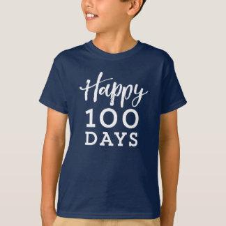 Glückliche 100 Tage des SchulShirts T-Shirt