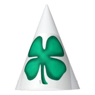 Glückliche 4 Blatt-irische Klee-Partyhüte Partyhütchen